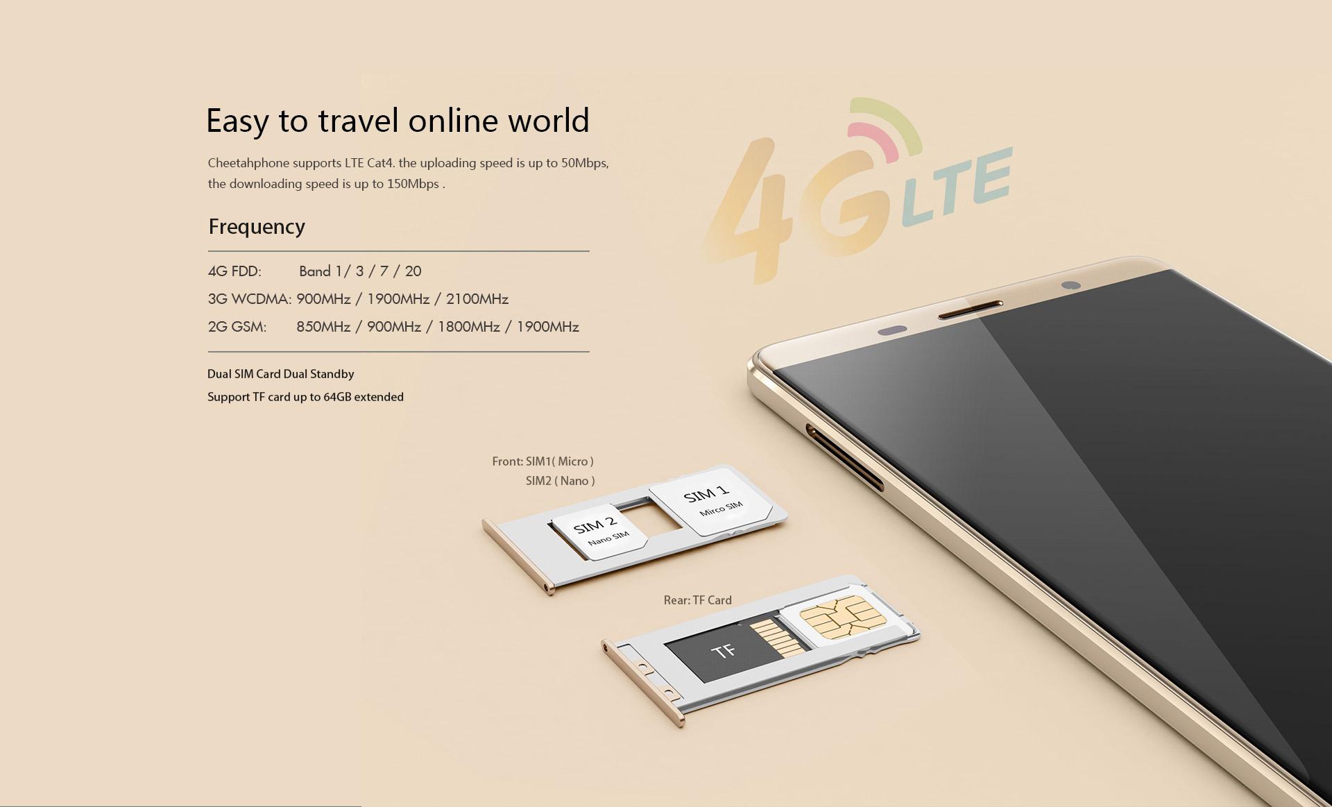 Cubot CheetahPhone , Neuheit, Smartphone China,Cubot Cheetah, LTE 800, B7 B20 LTE