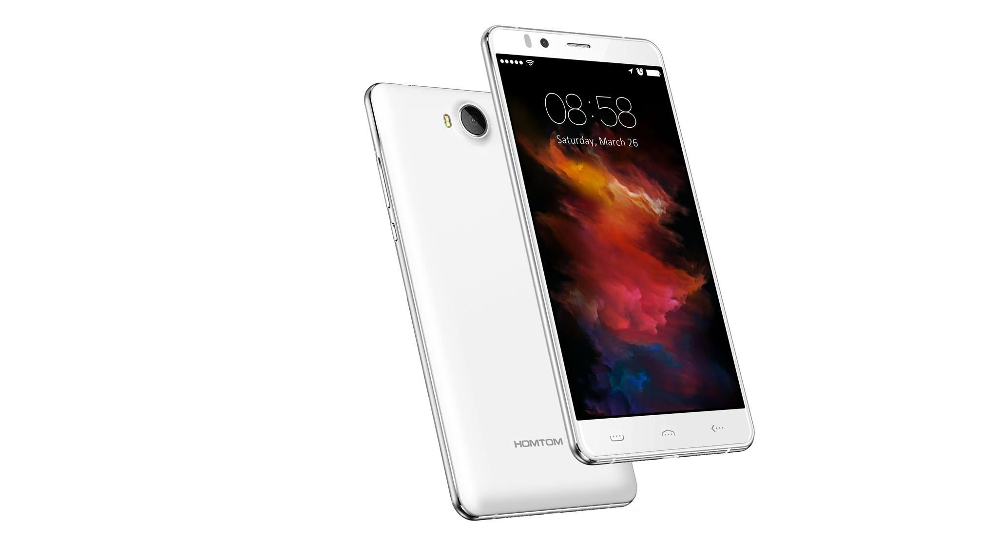 Homtom HT10, China Smartphone, Testsieger, schnell, Iris Scanner Sicherheit