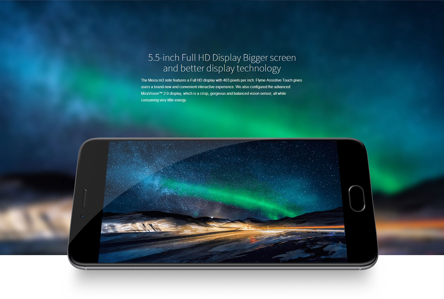 MEIZU M3 Note , Chinahandy, China-Smartphones Test, Testbericht, Display 403ppi