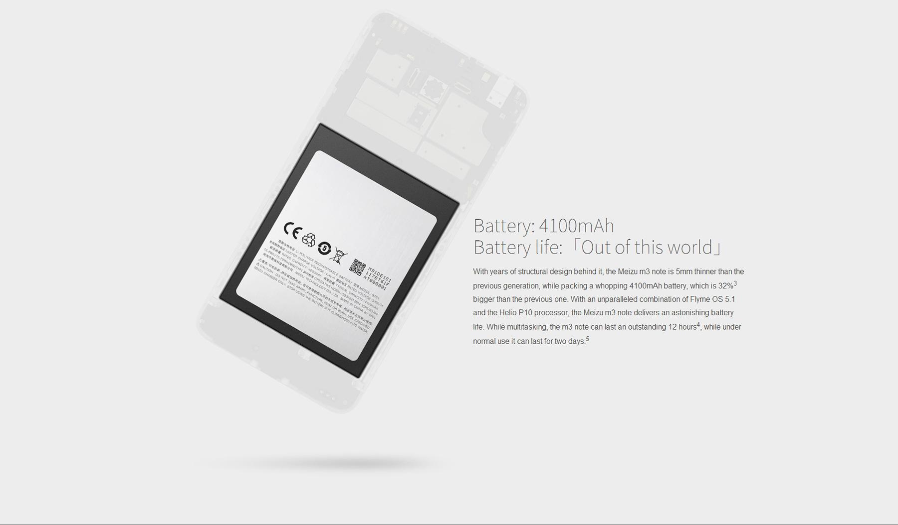 MEIZU M3 Note , Chinahandy, China-Smartphones