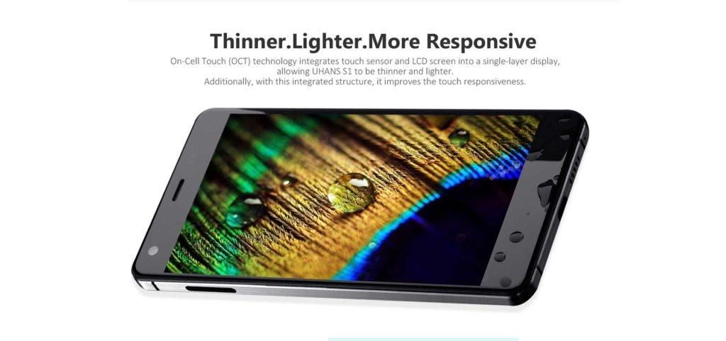 Uhans S1 , Antutu Benchmark score, Chinahandy ,Smartphone Phablet Test, Testbericht, Handy ohne Vertrag