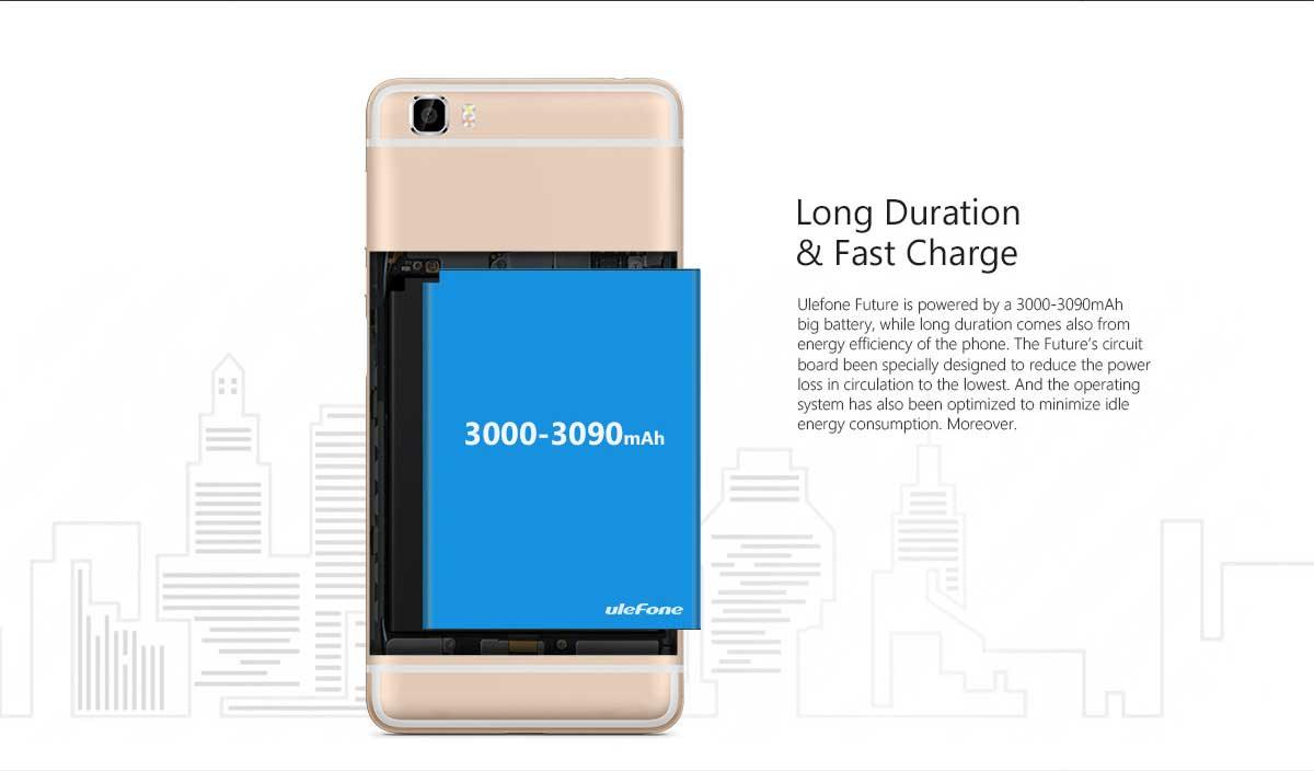 Ulefone Future, Testbericht, Akku Lauftzeit