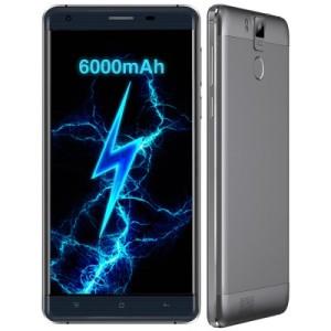 Oukitel K6000 Pro 5.5 Zoll LTE FHD Phablet mit Android 6.0, MTK6753 64bit Octa Core 1.3GHz, 3GB RAM, 32GB Speicher, 16MP+8MP Kameras, 6.000mAh Akku
