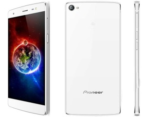Pioneer C1 5.2 Zoll LTE FHD Smartphone mit Android 5.1, MediaTek MTK6753 Octa Core 1.6Ghz, 2GB RAM, 16GB Speicher, 13MP+8MP Kameras, 2.650mAh Akku