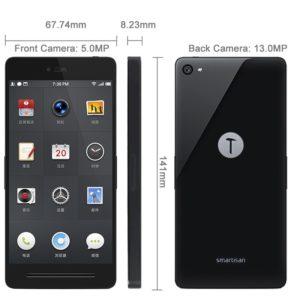 Smartisan T1 4.95 Zoll 3G FHD Smartphone mit Smartisan OS (Android 4.4), Snapdragon 801 Quad Core 2.5GHz, 2GB RAM, 32GB Speicher, 13MP+5MP Kameras (Sony),  2.490mAh Akku, Gorilla Glass, NFC, HiFi, GLONASS