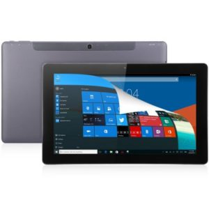 TECLAST TBook 11 – 10.6 Zoll FHD Dual Boot Tablet PC mit Win 10 & Android 5.1, Intel Atom Z8300 Quad Core 1.44GHz, 4GB RAM, 64GB Speicher, 2MP & 2MP Kameras, 7.500mAh Akku