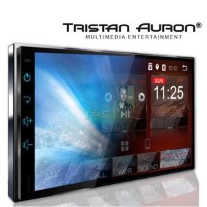 TRISTAN AURON BT2D7018A – 7.0 Zoll 2 DIN Autoradio mit Android 8.1, CORTEX A35 Quad Core 1.5GHz, 2GB RAM, 32GB Speicher