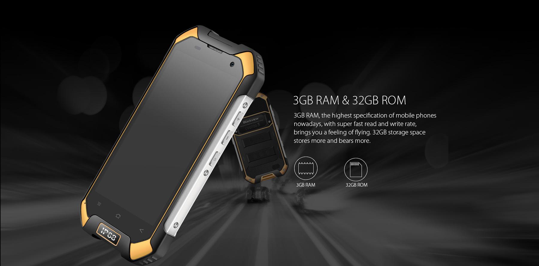 Blackview BV6000, Helio P10 MediaTek, 3GB ROM, Android 6.0, wasserdicht Outdoor Smartphone, Testbericht