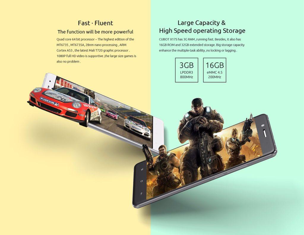 CUBOT X17S, Smartphone Neuheiten 2016, Antutu Benchmark Test, 3GB Ram, 100 Euro Smartphone, Kauftipp