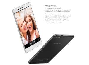 CUBOT X17S – schlankes 5 Zoll LTE Smartphone mit FullHD Display, MTK6735, 3GB RAM + 16GB ROM und 13MP+5MP (echte Megapixel) Kameras