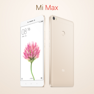 Xiaomi Mi Max ganz groß! 6,44 Zoll FHD Smartphone mit Qualcomm Snapdragon 652 Octa Core, 5,0MP + 16,0MP Kameras,  Touch ID und großem 4850mAh Akku