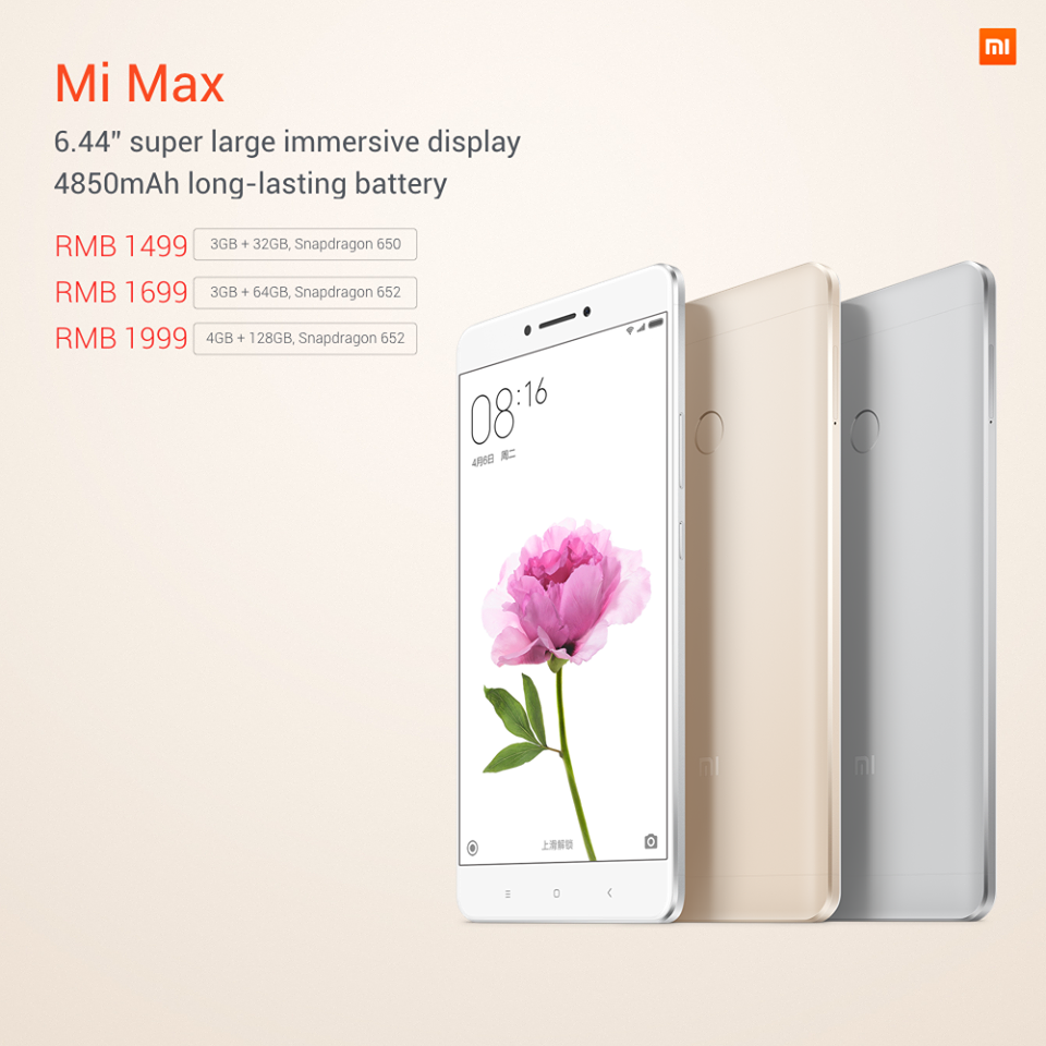 Xiaomi Mi Max, bestellen, verfügbarkeit, Deutschland bestellen, Phablet Xiaomi Max, Daten, LTE B20 B7