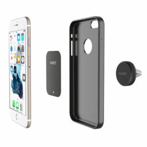 AUKEY HD-C5 Universal Magnet-Handyhalterung KFZ-Lüftung für jedes Smartphone oder GPS-Gerät