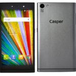 CASPER VIA V9 5.0 Zoll LTE HD Smartphone mit Android 5.1, MTK6752 Octa Core 1.5GHz, 2GB RAM, 16GB Speicher, 13MP+5MP Kameras, 2.450mAh Akku