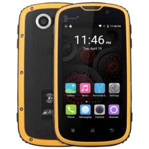 Ken Xin Da Proofings W5 – 4.0 Zoll LTE WVGA Outdoor Smartphone mit Android 5.1, MTK6735 Quad Core 1.0GHz, 1GB RAM, 8GB Speicher, 5MP & 2MP Kameras, 2.800mAh Akku