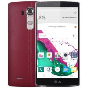 LG G4 LTE QHD Phablet mit Android 5.1, Snapdragon 808 64bit Hexa Core 1.8GHz, 3GB RAM, 32GB Speicher, 16MP+8MP Kameras, 3.000mAh Akku
