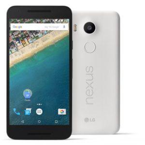 LG Nexus 5X – 5.2 Zoll LTE FHD Smartphone mit Android 6.0, Snapdragon 808 Hexa Core 1.8GHz, 2GB RAM, 32GB Speicher, 12MP & 5MP Kameras, 2.700mAh Akku