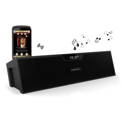 sardine sdy019 bluetooth stereo lautsprecher preisvergleich. Black Bedroom Furniture Sets. Home Design Ideas