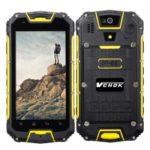 VCHOK M8 4.5 Zoll LTE qHD Outdoor Smartphone mit Android 5.1, MTK6735 Quad Core 1.3GHz, 2GB RAM, 16GB Speicher, 13MP+2MB Kameras, 3.000mAh Akku