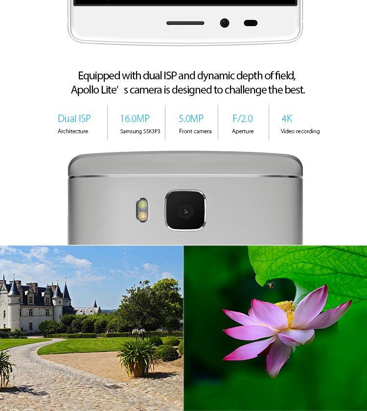 VERNEE APOLLO LITE , China-Smartphone, Samsung Kamera 16MP 4K
