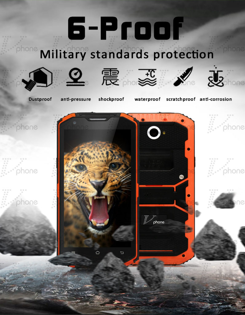 VPHONE X3, IP68, Outdoor China Smartphones, Testbericht, B7 B20 LTE 800, LTE