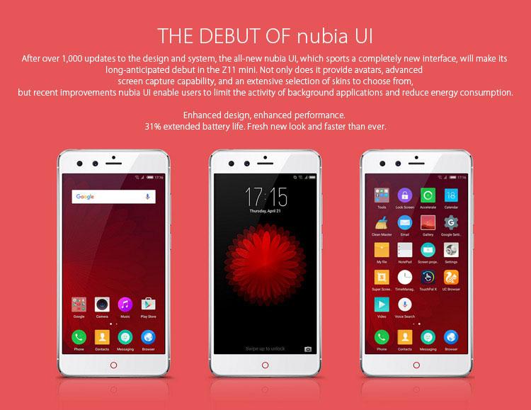 ZTE NUBIA Z11 MINI , Test Antutu, bester Preis, Geekbench Benchmark, DHL Express dauer China Zoll