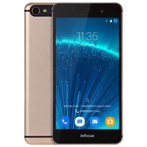Infocus V5/M560 Pro 5.2 Zoll LTE FHD Smartphone mit Android 5.1, MTK6753 64bit Octa Core 1.3GHz, 2GB RAM, 32GB Speicher, 13MP+5MP Kameras, 2.450mAh Akku