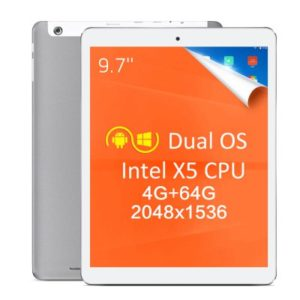 TECLAST X98 Plus II – 9.7 Zoll QXGA Dual Boot Tablet PC mit Windows 10 & Android 5.1, Intel Atom X5-Z8350 Quad Core 1.84GHz, 4GB RAM, 64GB Speicher, 2MP & 2MP Kameras, 8.000mAh Akku