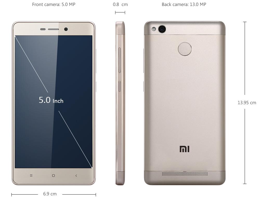 Neuheit Xiaomi, 294ppi Qualcomm Snapdragon 430, Qualcomm Snapdragon 430, Xiaomi Redmi 3X