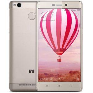 Xiaomi Redmi 3X – 5,0 Zoll HD Smartphone mit Qualcomm Snapdragon 430 Prozessor, 2GB RAM + 32GB ROM, 13MP+5MP Kamera und großem 4.100mAh Akku