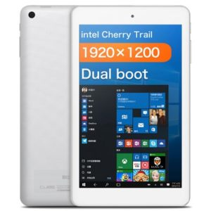 CUBE iWork8 Air – 8.0 Zoll WUXGA Dual Boot Tablet PC mit Windows 10 & Android 5.1, Intel Atom X5 Z8300/Z8350 Quad Core 1.44GHz, 2GB RAM, 32GB Speicher, 2MP & 2MP Kameras, 3.500mAh Akku