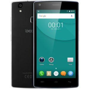 DOOGEE X5 MAX Pro 5.0 Zoll LTE HD Smartphone mit Android 6.0, MTK6737 Quad Core 1.3GHz, 2GB RAM, 16GB Speicher, 5MP+5MP Kameras, 4.000mAh Akku