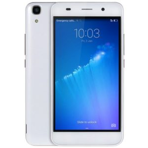 Huawei Honor 4A 5.0 Zoll LTE HD Smartphone mit Android 5.1, Snapdragon MSM8909 Quad Core 1.1GHz, 2GB RAM, 8GB Speicher, 8MP+2MP Kameras, 2.200mAh Akku