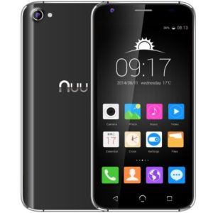 NUU X4 5.0 Zoll LTE HD Smartphone mit Android 5.1, MTK6735 Quad Core 1.3GHz, 2GB RAM, 16GB Speicher, 13MP+8MP Kameras, 2.250mAh Akku