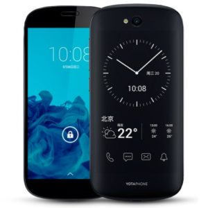 Yotaphone 2 5.0 & 4.7 Zoll LTE FHD Smartphone mit Android 4.4/5.0, Qualcomm Snapdragon 800 Quad Core 2.26GHz, 2GB RAM, 32GB Speicher, 8MP+2.1MP Kameras, 2.500mAh Akku
