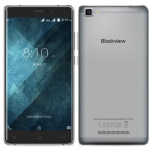 Blackview A8 Max 5.5 Zoll LTE HD Phablet mit Android 6.0, MTK6737 Quad Core 1.3GHz, 2GB RAM, 16GB Speicher, 8MP+5MP Kameras (Sony), 3.000mAh Akku
