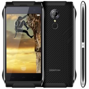 Homtom HT20 4.7 Zoll LTE HD Outdoor Smartphone mit Android 6.0, MTK6737 Quad Core 1.3GHz, 2GB RAM, 16GB Speicher, 8MP+5MP Kameras, 3.500mAh Akku