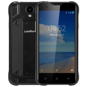 LANDRUM Z8 – 5.0 Zoll LTE qHD Outdoor Smartphone mit Android 5.1, MTK6735 Quad Core 1GHz, 2GB RAM, 16GB Speicher, 13MP & 2MP Kameras, 3.200mAh Akku