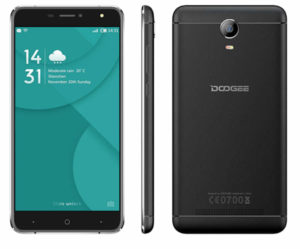 DOOGEE X7 Pro 6.0 Zoll LTE HD Smartphone mit Android 6.0, MTK6737 64-bit Quad Core 1.3GHz, 2GB RAM, 16GB Speicher, 5MP+8MP Kameras, 3.700mAh Akku