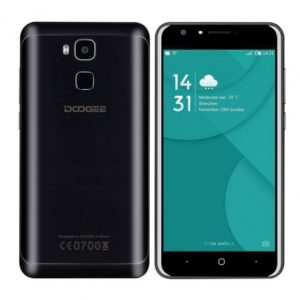DOOGEE Y6 – 5.5 Zoll LTE HD Phablet mit Android 6.0, MTK6750 Octa Core 1.5GHz, 2 GB RAM, 16 GB Speicher, 13MP+8MP Kameras, 3.200mAh Akku