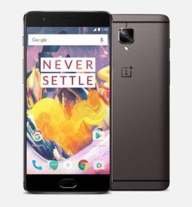 OnePlus 3T – 5.5 Zoll FullHD Smartphone mit OxygenOS, Snapdragon 821 , 6GB RAM + 128GB ROM, 16MP (OIS)+16MP Kameras (Sony/Samsung) und 3.400mAh Akku mit Dash Charge