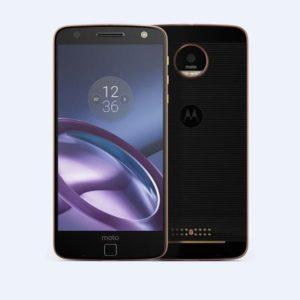 LENOVO MOTOROLA Moto Z – 5.5 Zoll LTE QHD Phablet mit Android 6.0, Snapdragon 820 Quad Core 1.8GHz, 4GB RAM, 64GB Speicher, 13MP & 5MP Kameras, 2.600mAh Akku