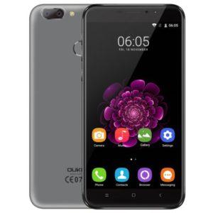 OUKITEL U20 Plus – 5.5 Zoll LTE FHD Phablet mit Android 6.0, MTK6737T Quad Core 1.5GHz, 2GB RAM, 16GB Speicher, Dual 13MP+0.3MP & 5MP Kameras , 3.300mAh Akku