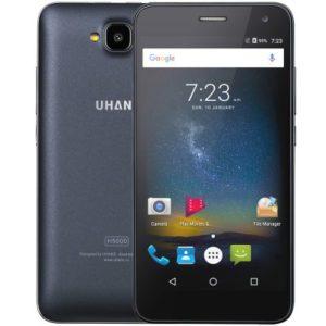UHANS H5000 – 5.0 Zoll LTE HD Smartphone mit Android 6.0, MTK6737 Quad Core 1.3GHz , 3GB RAM, 32GB Speicher, 8MP & 5MP Kameras, 4.500mAh Akku