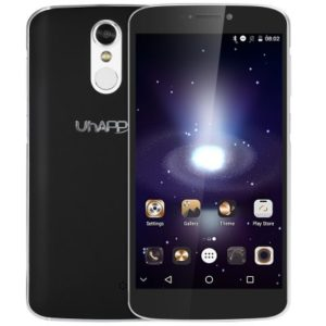 UHAPPY UP350 – 5.5 Zoll LTE HD Phablet mit Android 6.0, MTK6737 Quad Core 1.3GHz, 2GB RAM, 16GB Speicher, 8MP & 5MP Kameras, 2.700mAh Akku