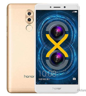 Huawei Honor 6X – 5.5 Zoll LTE FHD Phablet mit Android 6.0, Kirin 655 Octa Core 2.1GHz, 3-4GB RAM, 32-64GB Speicher, Dual 12+2MP & 8MP Kameras, 3.340mAh Akku