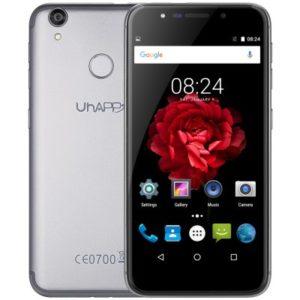 UHAPPY UP720 – 5.0 Zoll LTE HD Smartphone mit Android 6.0, MTK6737 Quad Core 1.3GHz, 2GB RAM, 16GB Speicher, 13MP & 5MP Kameras, 2.500mAh Akku