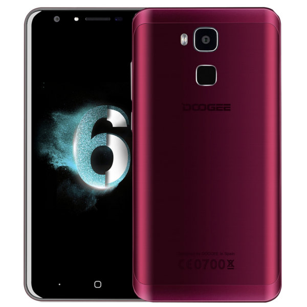 doogee y6 agate red 5 5 zoll lte hd phablet preis bersicht. Black Bedroom Furniture Sets. Home Design Ideas