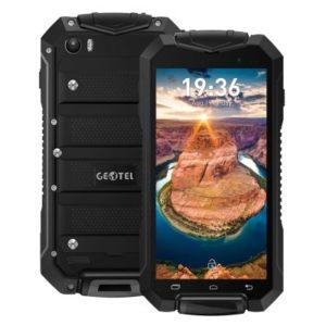 GEOTEL A1 – 4.5 Zoll 3G qHD Outdoor Smartphone mit Android 7.0, MTK6580 Quad Core 1.3GHz, 1GB RAM, 8GB Speicher, 8MP & 2MP Kameras, 3.400mAh Akku