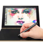 LENOVO Yoga Book – 10.1 Zoll WUXGA Tablet PC mit DOS/Win 10/Android 6.0, Intel Atom X5 Z8550 Quad Core 1.44GHz, 4GB RAM, 64-128GBGB Speicher, 8MP & 2MP Kameras, 8.500mAh Akku